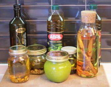 Cómo preparar aceites aromatizados