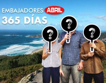 CONCURSO: Embajadores Abril 365 días